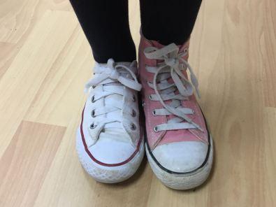 sabates diferents